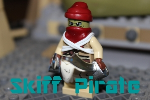 The skiff pirate is not necessarily a full fledged bounty hunter, but after i completed the finished figure, i just had to throw him into the group.