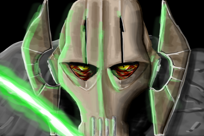 General Grievous with light