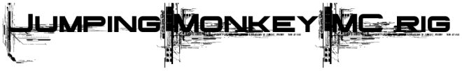Jumping Monkey rig logo