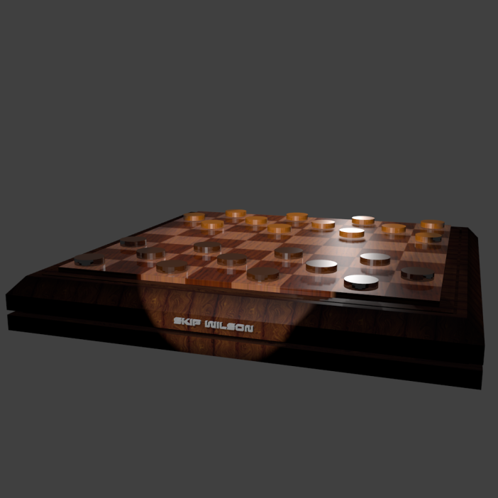 Skip Wilson Checkerboard
