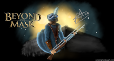 Beyond the Mask Art (Desktop With Logo)