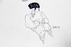 "Day 17: ""Sigh"""